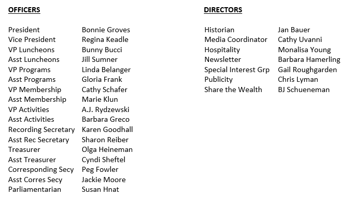 Officers and Directors